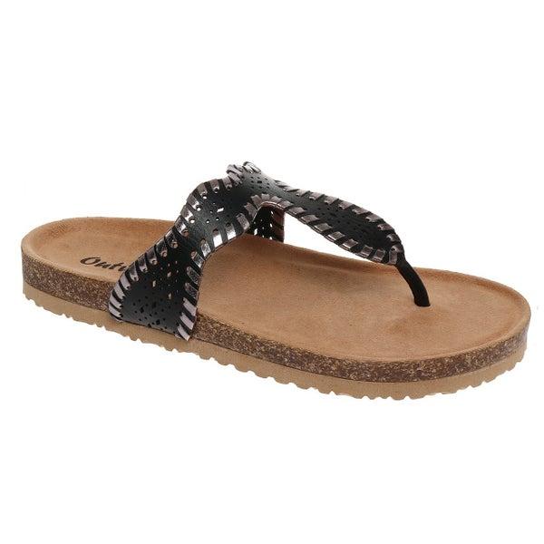 Black Brooke Sandals