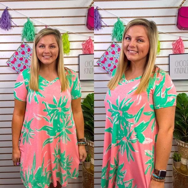 Teresa V-Neck Dress