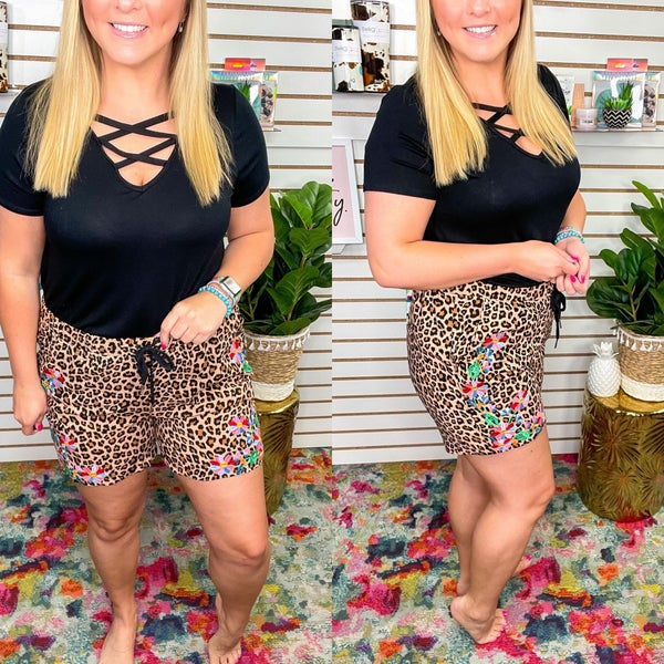 Bailey Embroidered Shorts