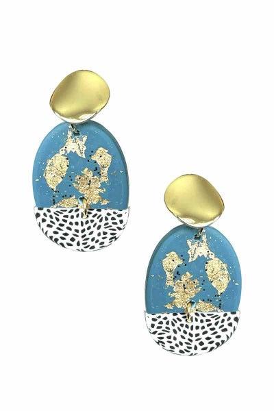 Dotty Clay Earrings