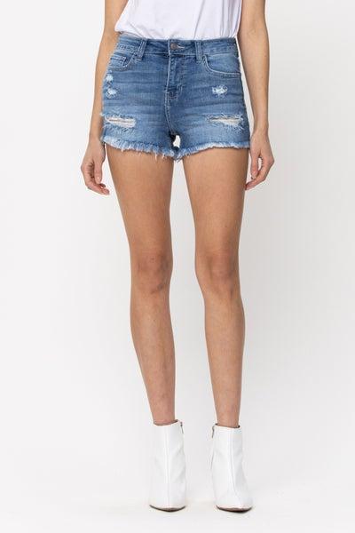 Bridget Distressed Shorts