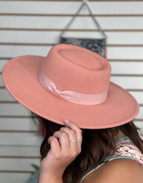 Pink Sandie Designer Dupe Hat