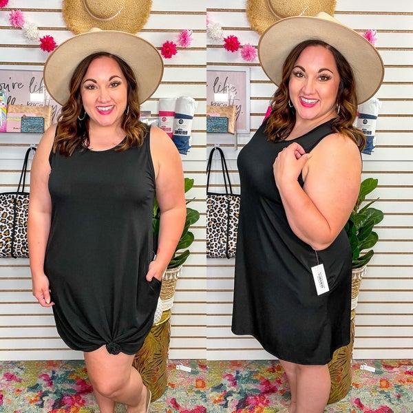 Black Brooke Tank Dress
