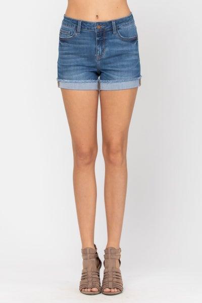 Medium Wash Autumn Judy Blue Shorts