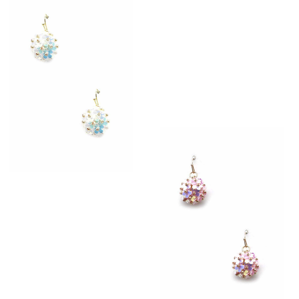Holographic Daisy Earrings