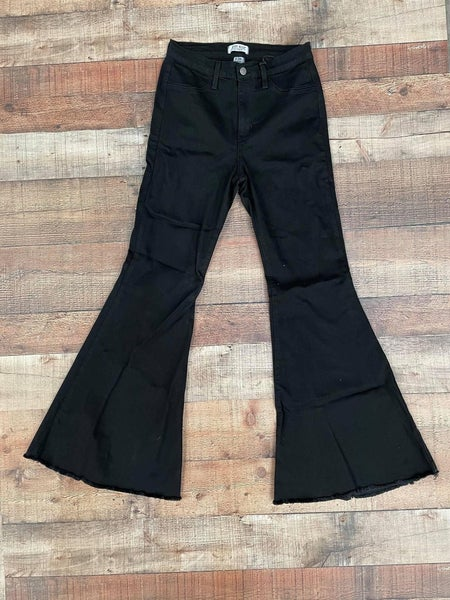 Black Super Flare Judy Blue Jeans