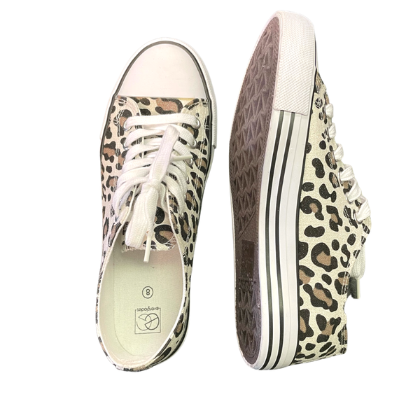 Snow Leopard Sneakers