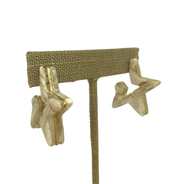 30mm Acrylic Star Earrings