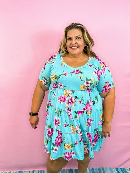 Cameron Floral Tiered Dress