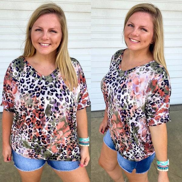 Shelby Leopard Dolman Top
