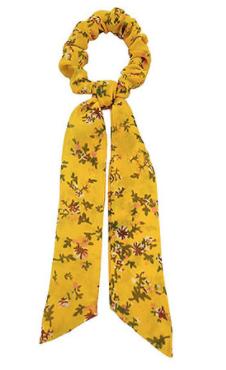 Marigold Floral Hair Scarf