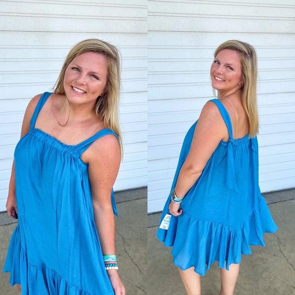 Ruthie Swingy Ruffle Dress