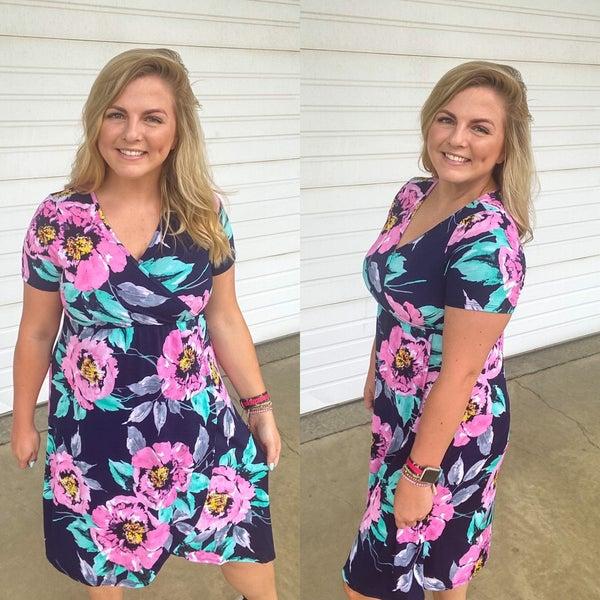 Katherine Floral Dress