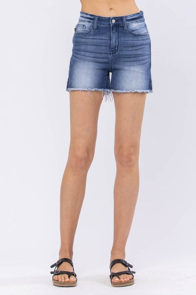 Kara Non-Distressed Cut Off Judy Blue Shorts