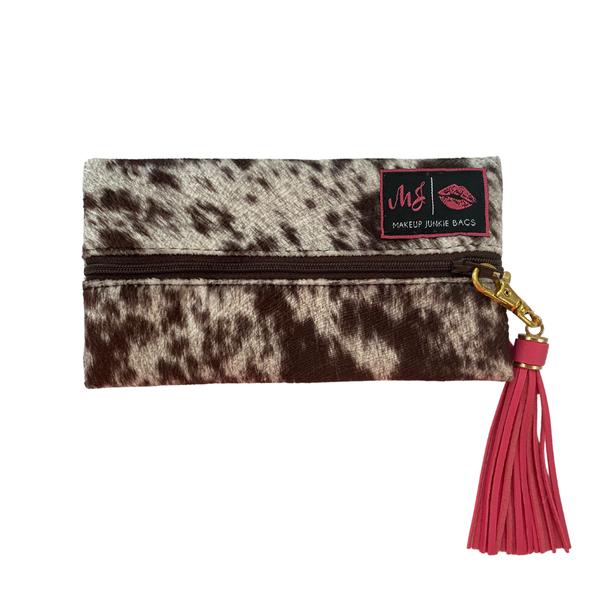 Mini Lola Chocolate Makeup Junkie Bag