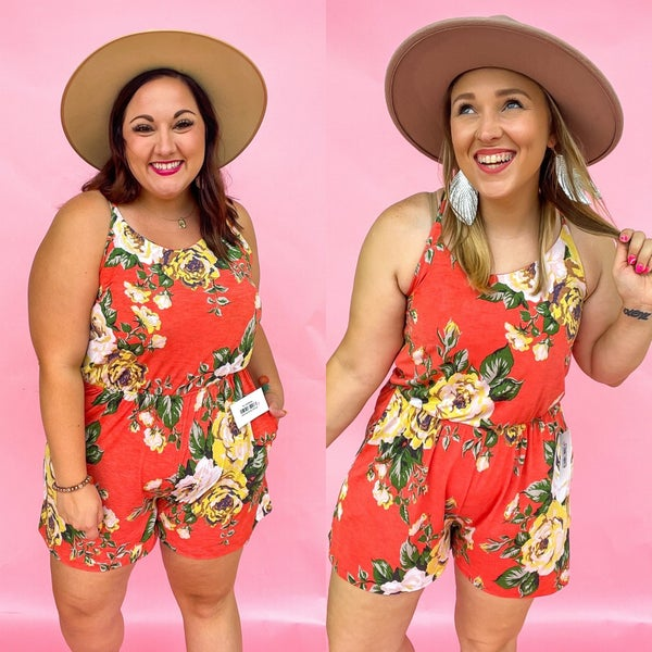 Willow Floral Romper