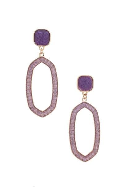 Beaded Designer Inspired Earrings
