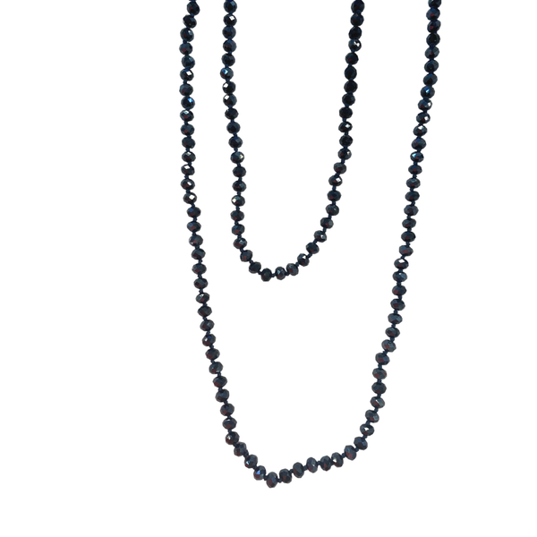 Midnight Blue Wrap Necklace