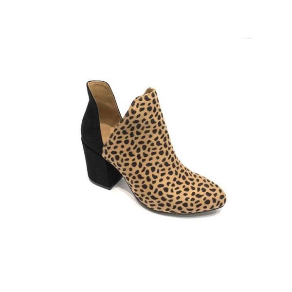 Cheetah Dot Booties