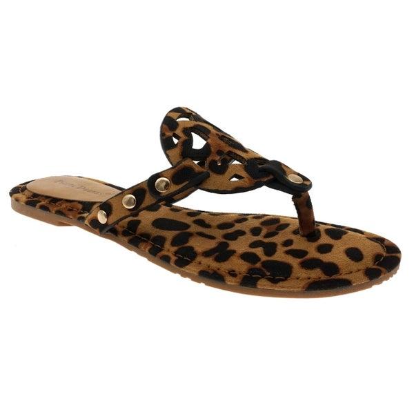 Leopard Tori Sandals