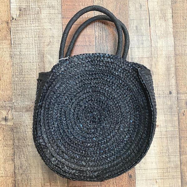 Round Woven Handbag