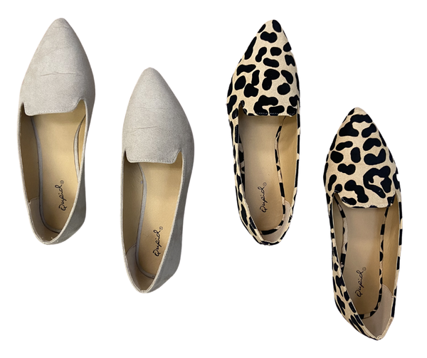Lizzie Pointed Flats
