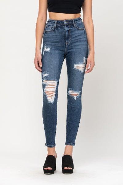 Madison Distressed Jeans