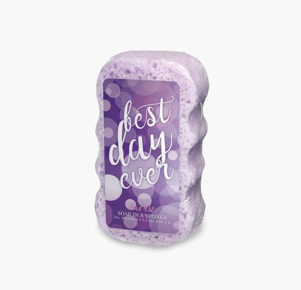 Best Day Ever Shower Sponge