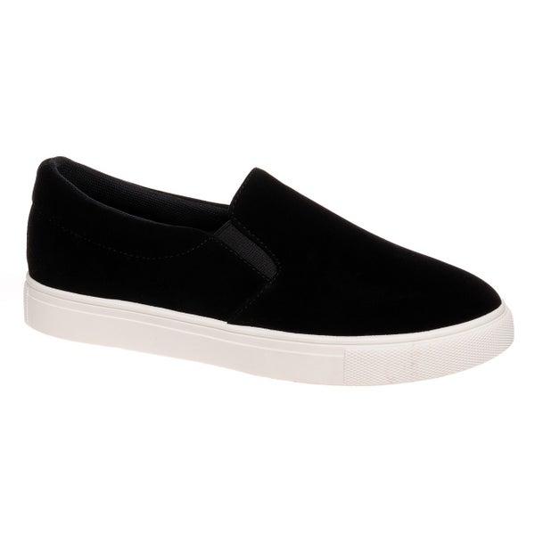Black Tara Slide-On Sneaker