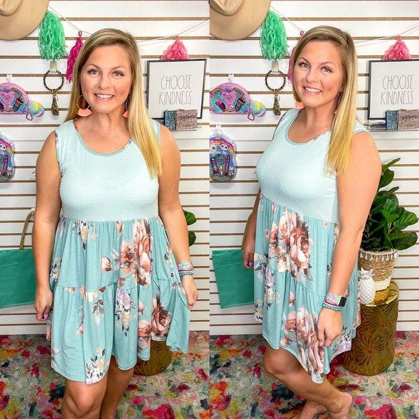 Kendall Floral Dress