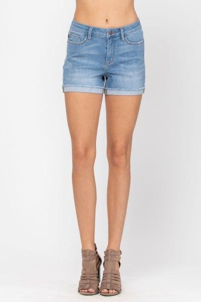 Autumn Non-Distressed Judy Blue Shorts