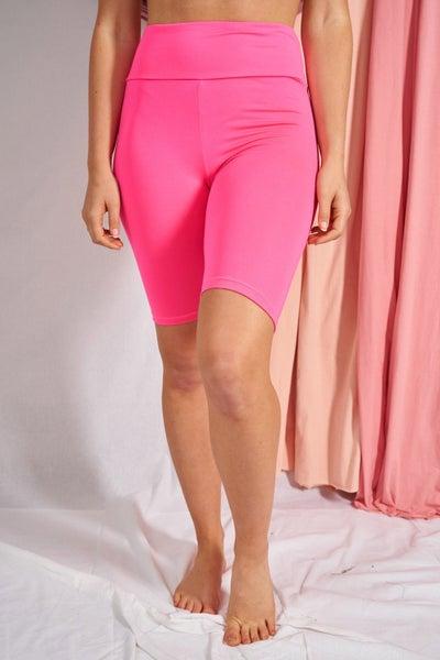 DOD Neon Pink Bike Shorts