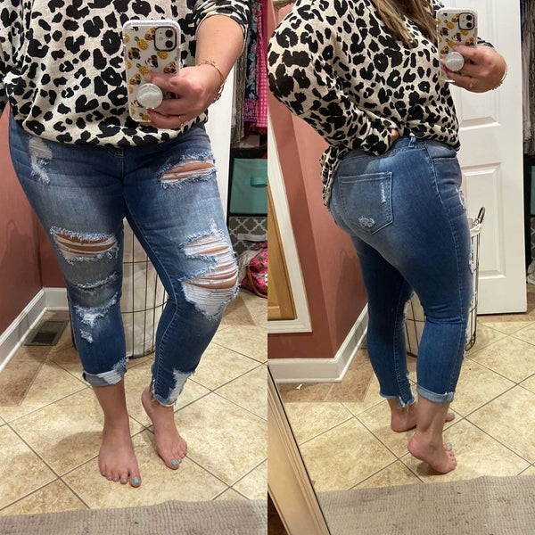 Laura Distressed Jeans