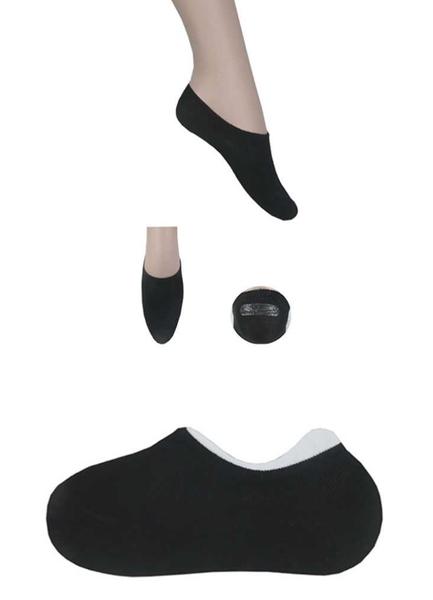 Black No-Show Socks