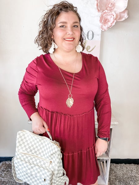 Curvy Sincerely Yours Dress