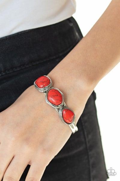 Paparazzi   Stone Shop - Red