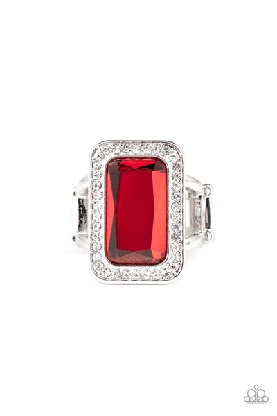 Paparazzi Crown Jewel Jubilee - Red