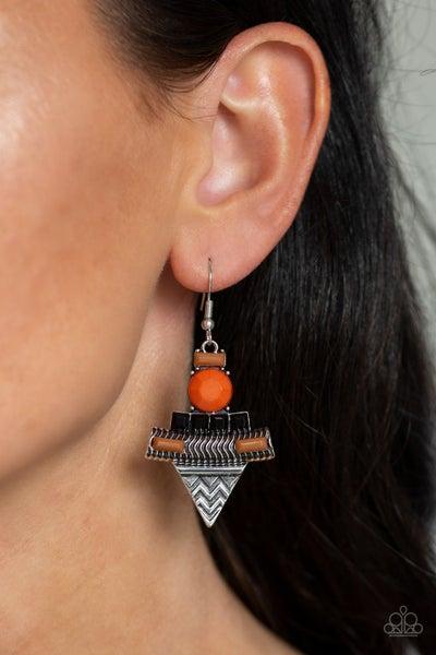 Paparazzi Tribal Terrain - Orange