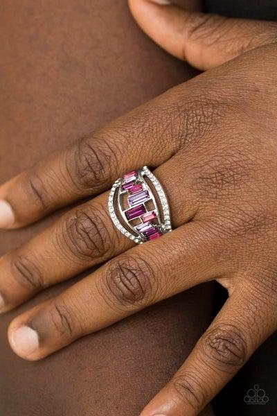 Paparazzi Treasure Chest Charm - Purple