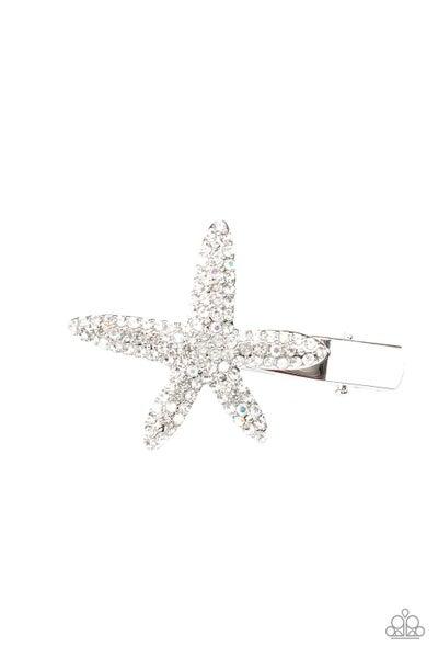 Paparazzi Wish On a STARFISH - White