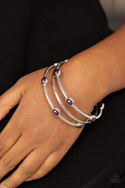 Paparazzi Bangle Belle - Purple