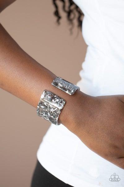 Paparazzi Haute Hustle - Silver