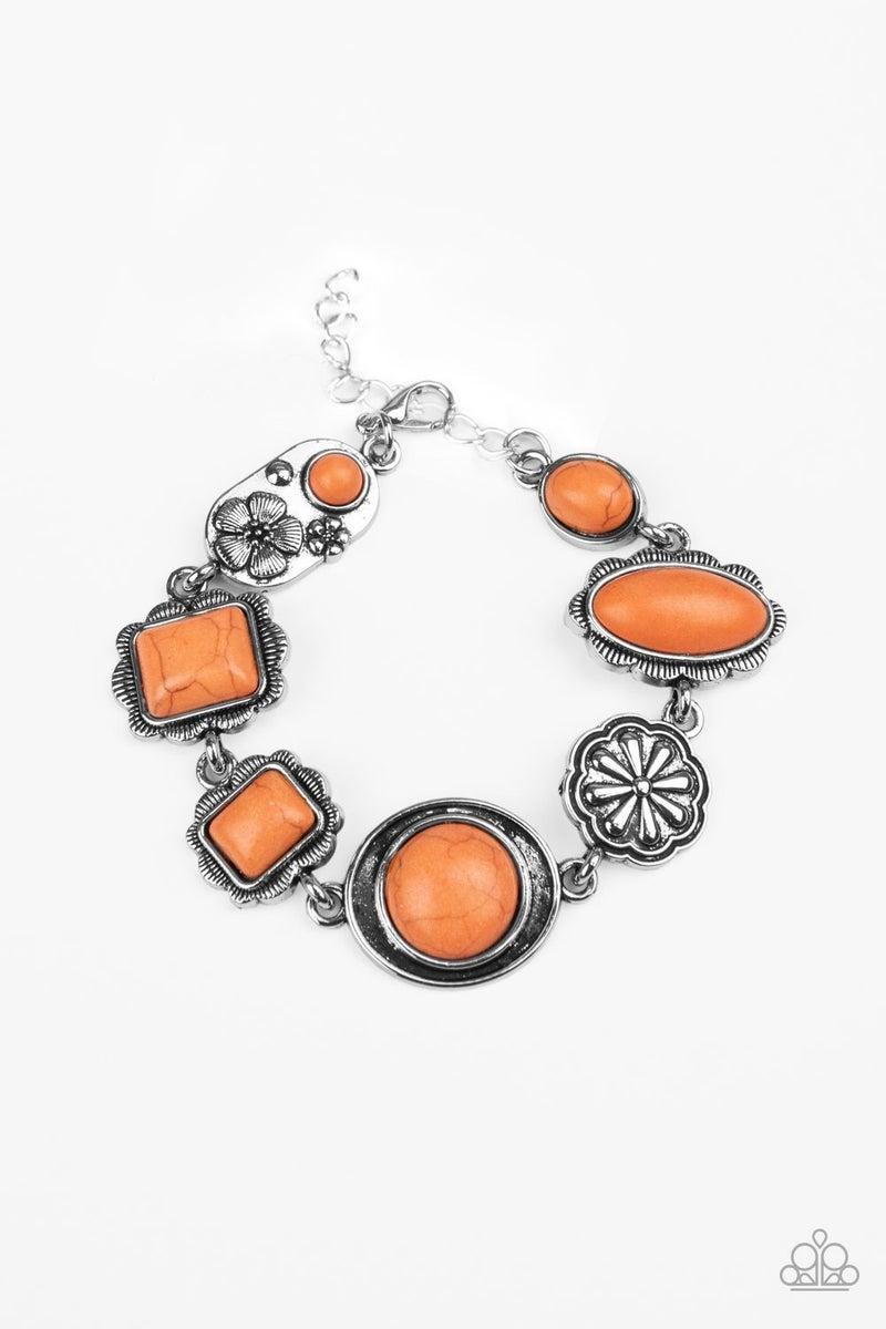 Paparazzi  Gorgeously Groundskeeper - Orange