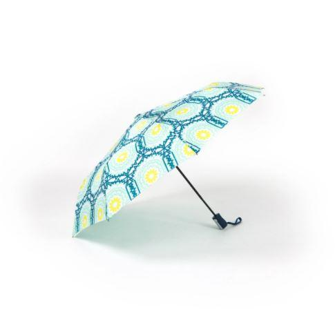 Sage & Emily Second Splash Compact Umbrella - Aqua