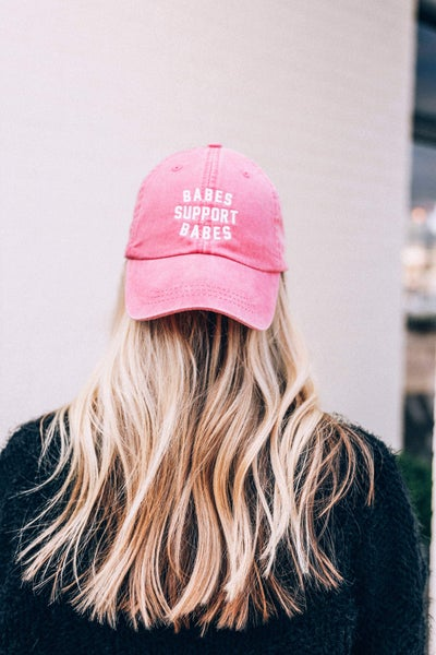 Babes Support Babes Graphic Hat