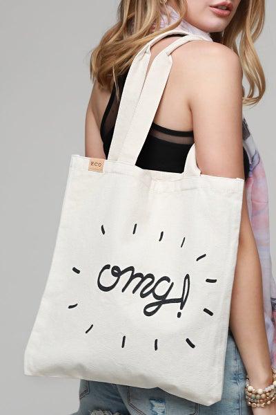 Eco Omg Canvas Bag *Final Sale*