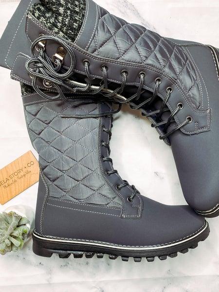 Polar Grey Boots *Final Sale*