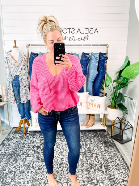 Pacifica Judy Blue Mid to Low Rise Skinny Jeans