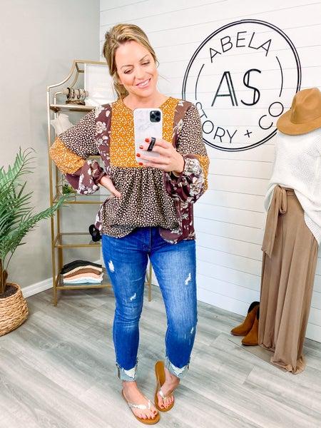 Journey Frayed Hem Straight Jeans (Plus + Reg)