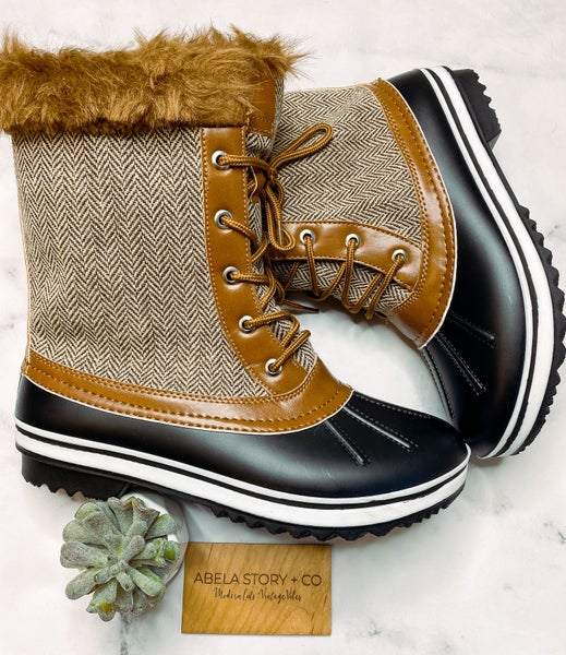 Most valued Duck Boots Around -Tan
